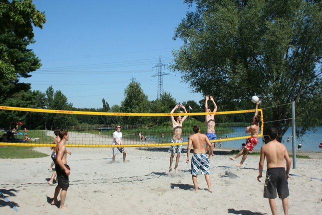Volleyball am Heidesee